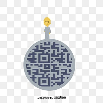 little prince dimensional code, Planet Dimensional Code, Illustration Dimensional Code, Beautiful PNG and Vector