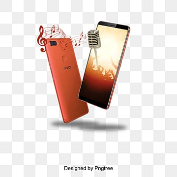 Phone, Rose Gold, Phone, Music PNG and PSD