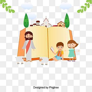 vector jesus with childrenLa  Gente  De PNG Y PSD