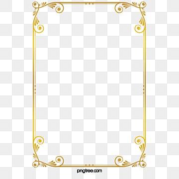 85ebd135a14 Gold Frame Png