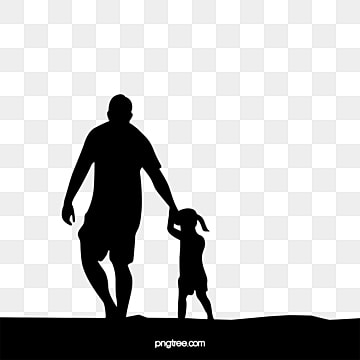 Boy and girl holding hands clipart black and white