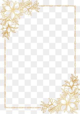 Invitations Decorative elements, Yellow, Hollow, Frame PNG and Vector