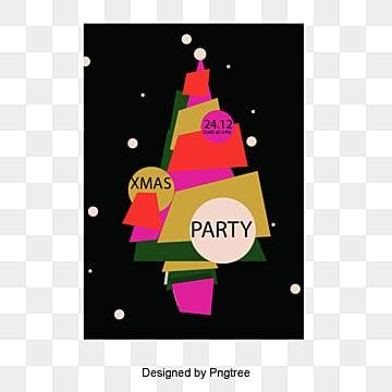 Création de dessins animés de l'arbre de Noël, Noël, Noël, Festival De MatériauPNG et vecteur