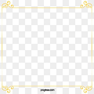 Golden Frame PNG Images   Vectors and PSD Files   Free ...