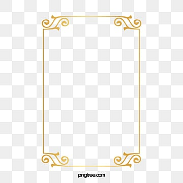 Gold Border Png Images Vectors And Psd Files Free Download On