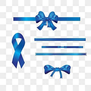 Blue gift ribbon, Blue, Ribbon, Arc PNG and PSD