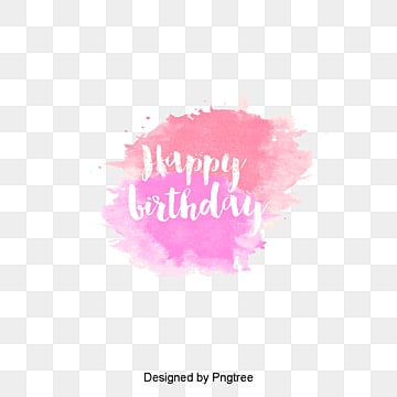 Vector watercolor birthday, Vector, Watercolor, Birthday Celebration PNG and Vector