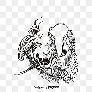 Véc   tơ bằng tay trên đầu sư tử, Các Vector., Bằng Tay, Cái đầu Sư Tử png và vector