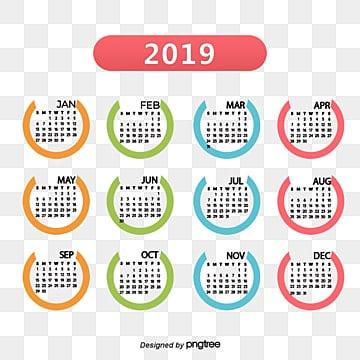 Simple calendario 2017, Calendario, 2017, 2017 PNG y PSD