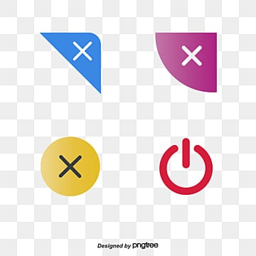 Close pages button Free PNG and PSD