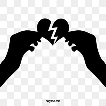 Broken Heart Png, Vector, PSD, and Clipart With Transparent