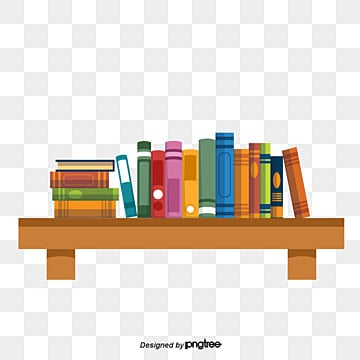 Put The Book Shelves Vector Clipart Bookshelf PNG And