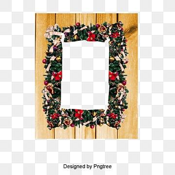Noël à la frontière de l'image, Joyeux Noël., élément De Noël, Le Matériau De Bordure PNG Image and Clipart