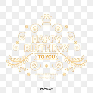 Simple WordArt,Birthday cards, Birthday Cards, Happy Birthday WordArt, Pattern Shading PNG and Vector