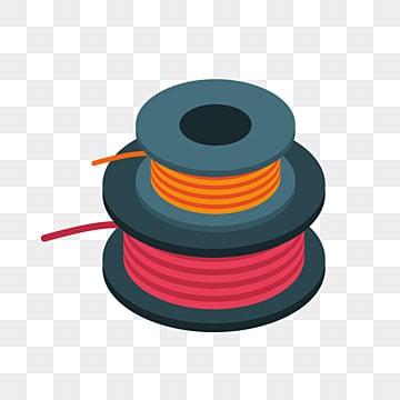 A Bundle Of Wires Cable Material Color PNG Image