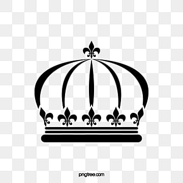 Crown Vector, Imperial Crown, Black, Crown Stick Figure PNG and Vector