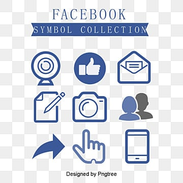 Facebook icon combination, Facebook Icon, Like, Arrow PNG and Vector
