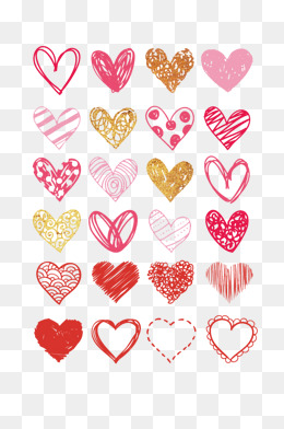 Heart vector material, Heart, Vector, Material PNG and Vector