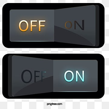 Vector Switch Lighting Push Button PNG And