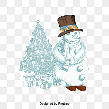 Christmas cartoon snowman, Cartoon Snowman, Christmas Snowman, Snowman PNG and Vector