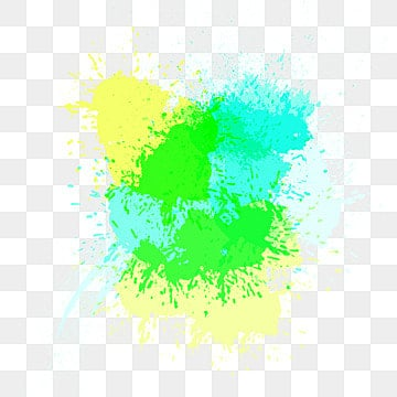 Watercolor ink droplets, Watercolor, Gouache, Blue-green PNG and Vector