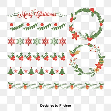 Christmas pattern border dividing lines, Dividing Line, Pattern, Border Christmas Pictures PNG and Vector