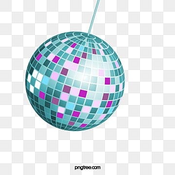 Fashion Disco Ball Posters Vector Material Nightclubs Party Kind Hearted Png And