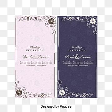 European and American vintage style wedding invitations vector pattern, Invitation Card, Pattern, Wedding Greeting Cards PNG and Vector