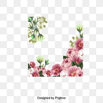 Beautiful flowers vector illustration, Illustration, Flowers Illustration, Pink PNG and Vector
