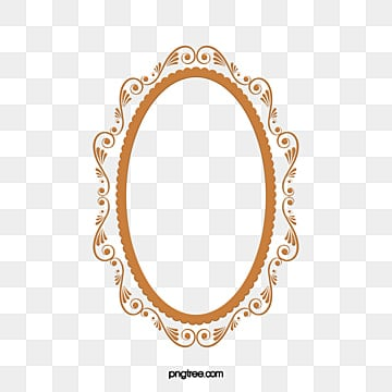 Lace oval. Clipart images png format