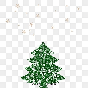 Black Christmas Tree Picture Material Clipart PNG Image And