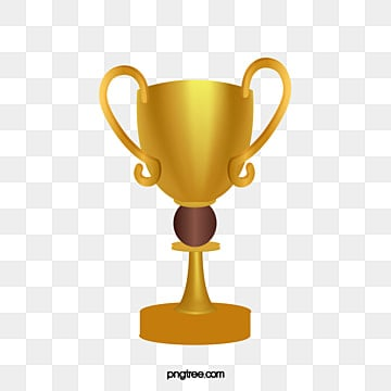 Gold Cup Trophy Clipart PNG Image And