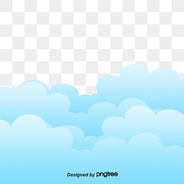 lovely clouds, Baiyun, Light Blue Clouds, Vector PNG and Vector