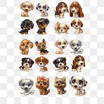 3D de dibujos animados de perro, 3D, Cartoon, Perros PNG y PSD