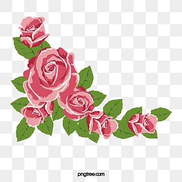 Rose Border Png Vector Psd And Clipart With Transparent