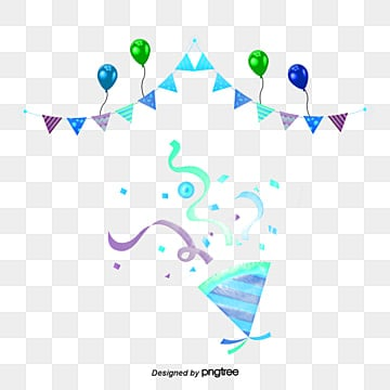 Celebrate balloons vector material