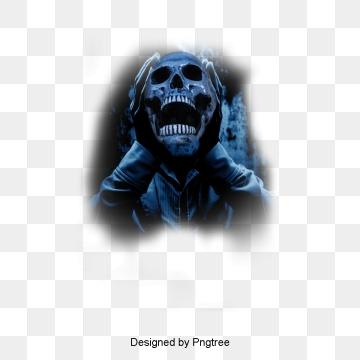 Halloween Skull, Skull, Halloween, Skull PNG Image