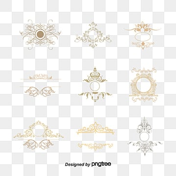 Bright crown vector retro groove design elements, Design Elements, Retro Vector, Retro Lines PNG and Vector
