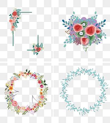 creative cartoon hand-painted christmas wreathมือวาดการ์ตูน  คริสต์มาส  มาลัย รูปภาพ PNG และคลิปอาร์ท