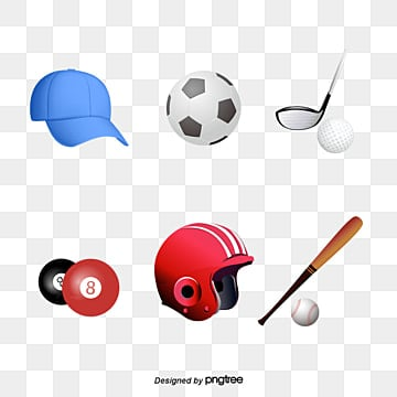 all kinds of sports balls, Sports Clipart, Movement, Health PNG Image and Clipart