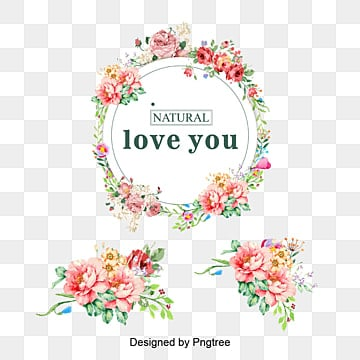 Vector colored bouquet wreath, Wreath, Flower Garlands, Flowers PNG and Vector