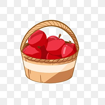 green and red apples in basket. a basket of apples, apple, food, food png image green and red apples in