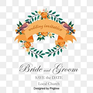 Fleurs d'aquarelle les invitations de mariage en matière de vecteur, Invitation De Matériau, Fleur, Invitation De MariagePNG et vecteur