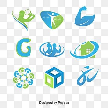 Creative Fitness logo, Creative, Fitness, Logo PNG y PSD