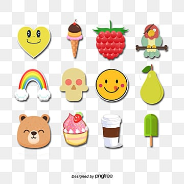 Cute Sticker PNG Images   Vector and PSD Files   Free