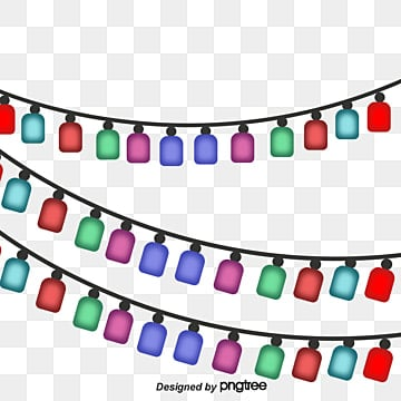 fresh christmas lights background vector material fresh christmas lights lantern vector fresh vector