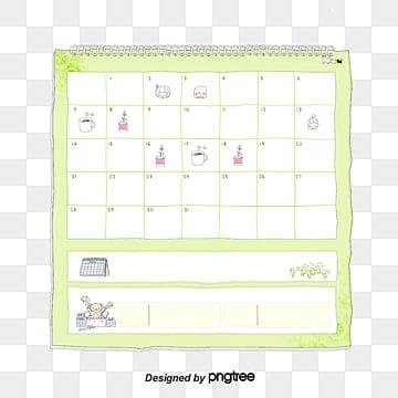 September 2017 small fresh calendar, 2017 Calendar, Small Fresh, Cactus PNG and PSD