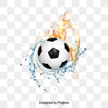 Matériau de photos de football, Les Gouttelettes D'eau, Bougie D'allumage, MarsPNG et PSD