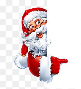Le père Noël vilain, Le Père Noël De L'élément, Le Père Noël De Matériau, Le Père Noël PNG Image and Clipart