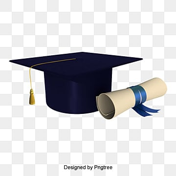vector graduation cap bachelor, Apparel, Collection, Version PNG and PSD